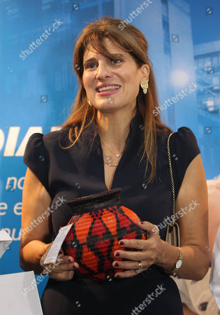 Editorial image of Princess Dina Mired of Jordan visits Cali, Colombia - 23 Apr 2018