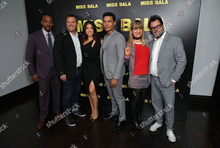 Anthony Mackie, Kevin Misher, Gina Rodriguez, Ismael Cruz Cordova, Catherine Hardwicke and Pablo Cruz