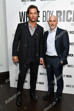 Stock Picture of Matthew McConaughey and Jeffrey Robinov