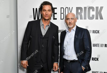 Stock Photo of Matthew McConaughey and Jeffrey Robinov