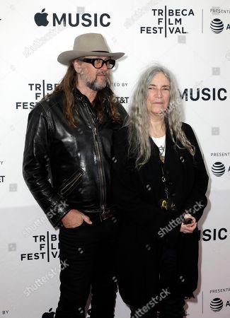 Stock Picture of Patti Smith and Steven Sebring
