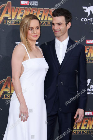 Stock Picture of Brie Larson and Alex Greenwald