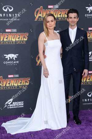 Editorial photo of 'Avengers: Infinity War' film premiere, Arrivals, Los Angeles, USA - 23 Apr 2018