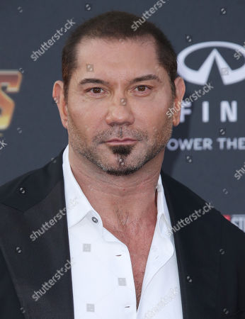 Stock Photo of David Bautista