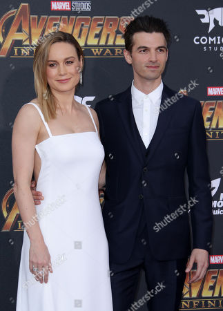 Brie Larson and Alex Greenwald