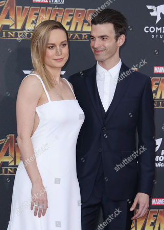 Stock Photo of Brie Larson and Alex Greenwald