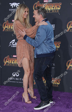 Editorial image of 'Avengers: Infinity War' film premiere, Arrivals, Los Angeles, USA - 23 Apr 2018