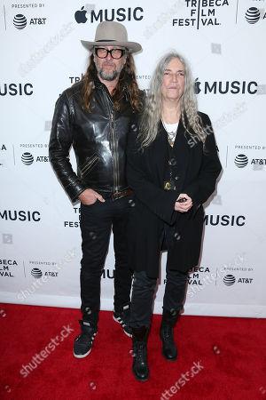 Steven Sebring (Director) and Patti Smith