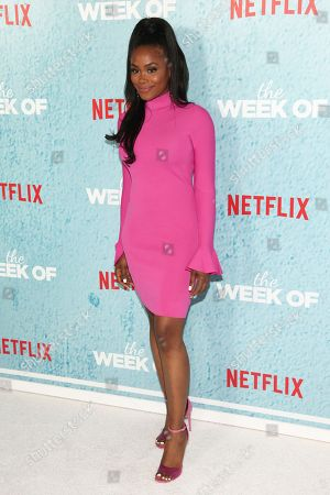 """Shannon Thornton attends the premiere of Netflix's """"The Week Of"""" at AMC Loews Lincoln Square, in New York"""