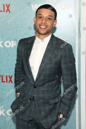 "Roland Buck III attends the premiere of Netflix's ""The Week Of"" at AMC Loews Lincoln Square, in New York"