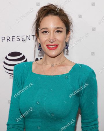 """Writer/director Emma Forrest attends a screening of """"Untogether"""" at the SVA Theatre during the 2018 Tribeca Film Festival, in New York"""
