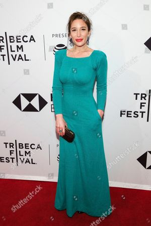 """Stock Photo of Writer/director Emma Forrest attends a screening of """"Untogether"""" at the SVA Theatre during the 2018 Tribeca Film Festival, in New York"""