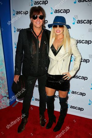 Richie Sambora, Orianthi. Richie Sambora, left, and Orianthi arrive at the 2018 ASCAP Pop Music Awards at The Beverly Hilton, in Beverly Hills, Calif