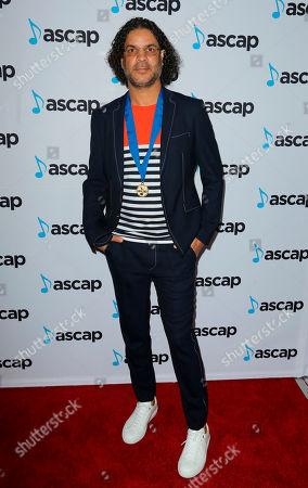 "Steven ""Lenky"" Marsden arrives at the 2018 ASCAP Pop Music Awards at The Beverly Hilton, in Beverly Hills, Calif"