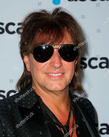 Richie Sambora arrives at the 2018 ASCAP Pop Music Awards at The Beverly Hilton, in Beverly Hills, Calif