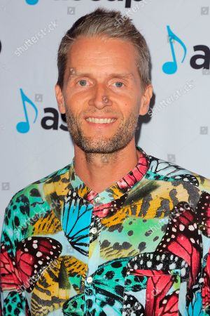 Toby Gad arrives at the 2018 ASCAP Pop Music Awards at The Beverly Hilton, in Beverly Hills, Calif