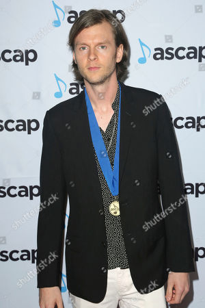 Stock Picture of Cirkut, Henry Russell Walter. Cirkut, arrives at the 2018 ASCAP Pop Music Awards at The Beverly Hilton, in Beverly Hills, Calif