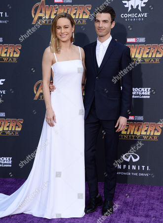 Stock Image of Brie Larson and Alex Greenwald