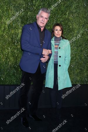 Stock Picture of Ray Liotta, Silvia Lombardo