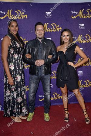 Stock Picture of Cassandra Steen, Laith Al-Deen, Mandy Grace Capristo