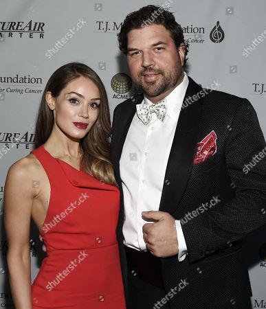 Stock Photo of Natalia Davidson and Dallas Davidson