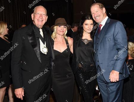 John Esposito Warner Music Nashville, Chantel Esposito, Veronica Cowher, Coach Bill Cowher