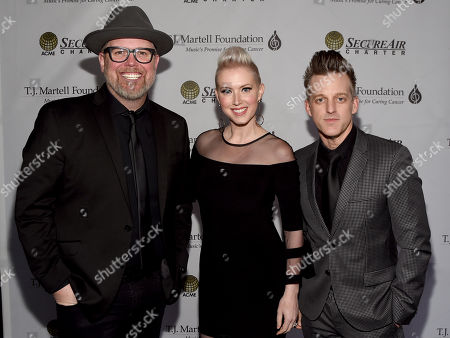 Christian Group MercyMe, Bart Millard, Country Duo Thompson Square, Shawna Thompson and Keifer Thompson