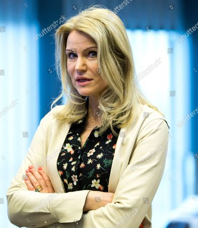 Helle Thorning-Schmidt, CEO of Save the Children International, attends a conference 'Supporting the future of Syria and the region' at the EU Charlemagne building in Brussels on