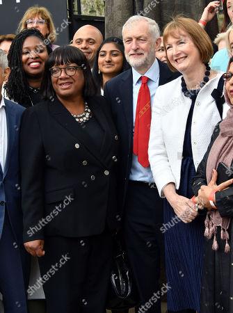 Diane Abbott, Jeremy Corbyn, Harriet Harman