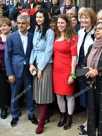 Sadiq Khan, Gillian Wearing, Caroline Criado-Perez, Harriet Harman
