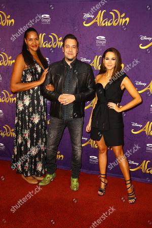 Stock Image of Cassandra Steen, Laith Al-Deen and Mandy Grace Capristo