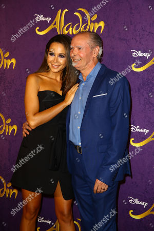 Mandy Grace Capristo mit ihrem Vater Vittorio Capristo