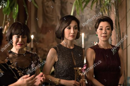 Selena Tan as Alexandra 'Alix' Young, Janice Koh as Felicity Young, Michelle Yeoh as Eleanor Young