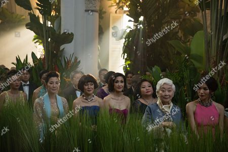 Michelle Yeoh as Eleanor Young, Selena Tan as Alexandra 'Alix' Young, Janice Koh as Felicity Young, Lisa Lu as Old Woman, Gemma Chan as Astrid Leong