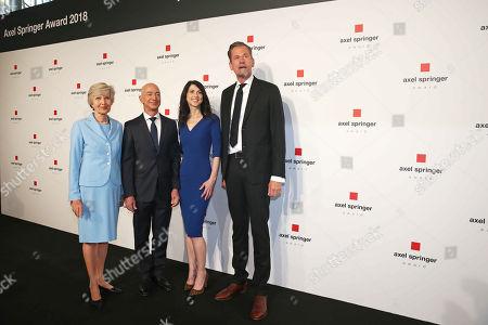 Friede Springer, Jeff Bezos (Amazon), wife, Mackenzie, Mathias Doepfner