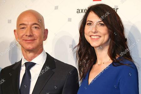 Jeff Bezos (Amazon), wife, Mackenzie
