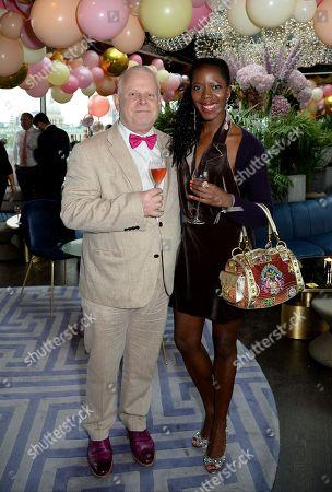 Richard Vines and Joy Carter