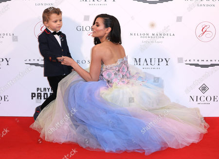 Caterina Lopez with child
