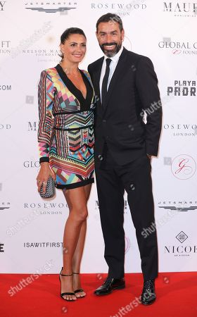 Robert Pires and Jessica Lemarie-Pires