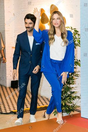 Martina Klein and Javier Rey