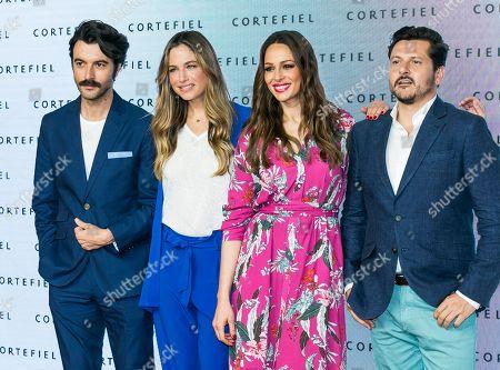 Eva Gonzalez, Martina Klein, Javier Rey and Quique Maillo
