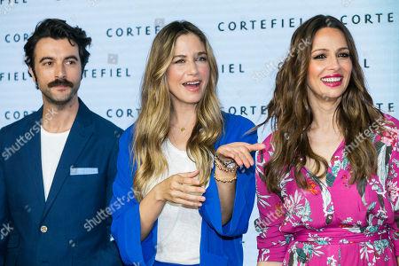 Eva Gonzalez, Martina Klein and Javier Rey