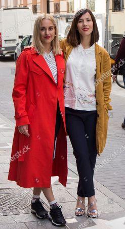 Silvia Alonso and Barbara Goenaga