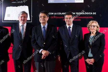 Inigo Mendez de Vigo, Sergio Ramirez, Rafael Catala, Manuela Carmena