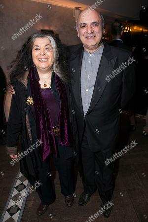 Eve Polycarpou (Abuela) and Peter Polycarpou