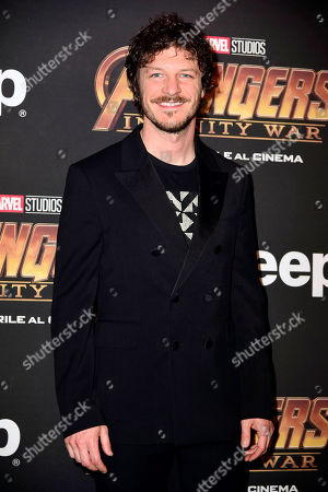 Editorial picture of 'Avengers: Infinity War' film premiere, Milan, Italy - 24 Apr 2018