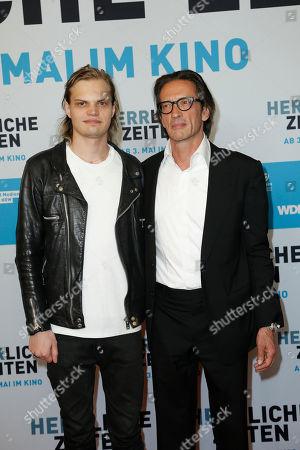 Editorial photo of Herrliche Zeiten premiere, Berlin, Germany - 23 Apr 2018