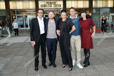 Oskar Roehler, Samuel Finzi, Katja Riemann, Oliver Masucci. Jutta Mueller (Produzentin)