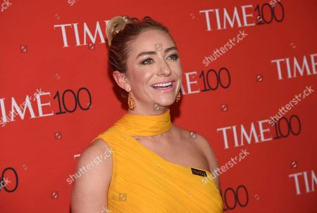 Bumble CEO Whitney Wolfe Herd attends the Time 100 Gala celebrating the 100 most influential people in the world at Frederick P. Rose Hall, Jazz at Lincoln Center, in New York