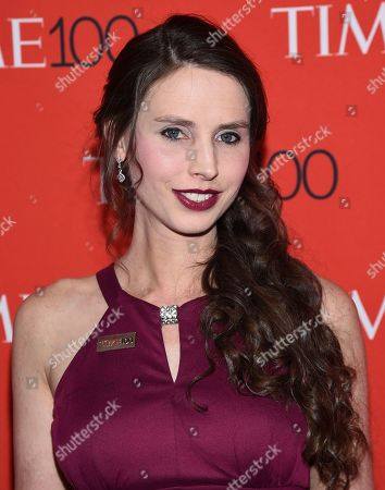 Rachael Denhollander attends the Time 100 Gala celebrating the 100 most influential people in the world at Frederick P. Rose Hall, Jazz at Lincoln Center, in New York